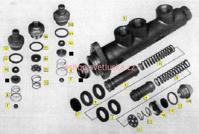 Brzdy B3 Multicar M25