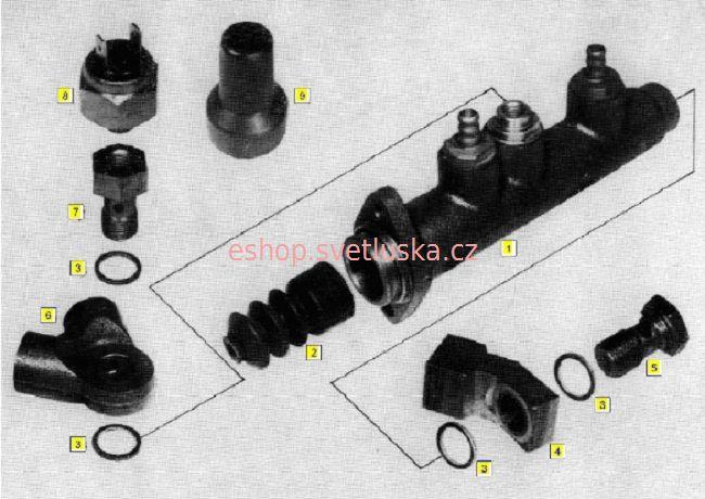 Brzdy B4 Multicar M25