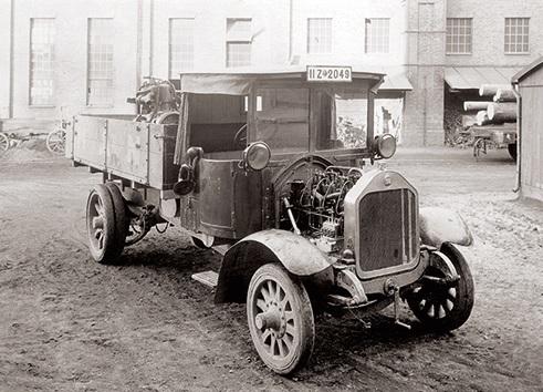 První vozidlo MAN